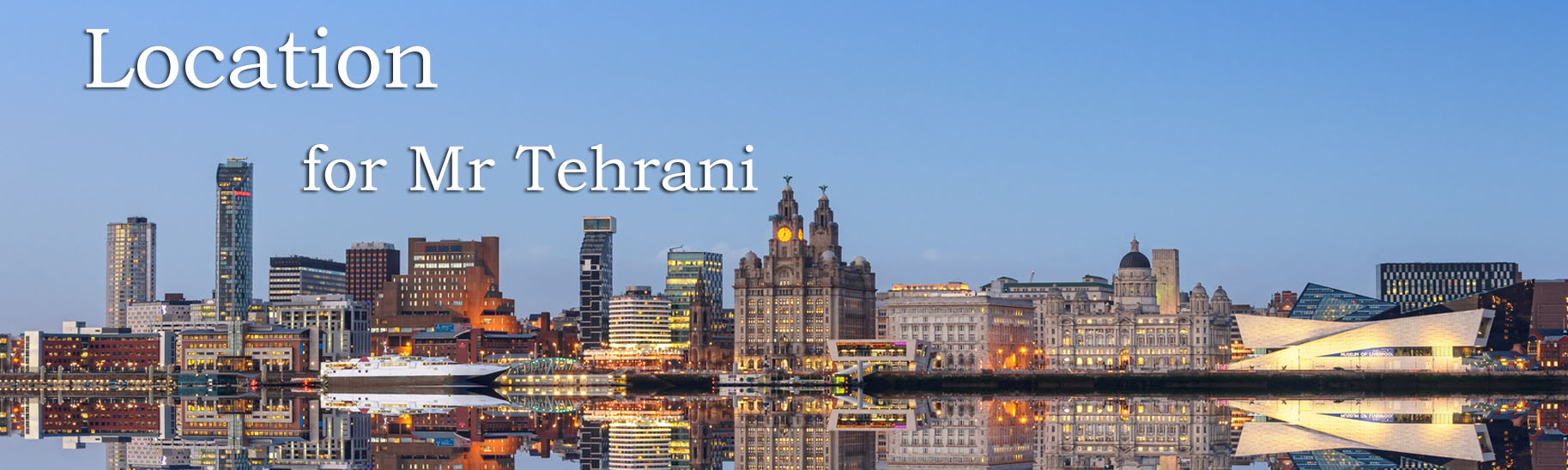 Location for Mr Tehrani, Liverpool skin cancer specialist & Mohs surgeon